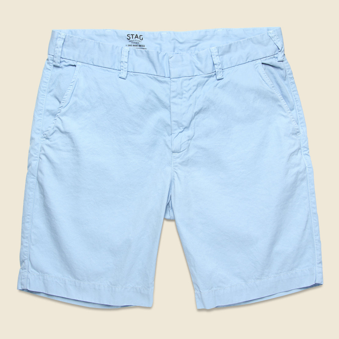 Save Khaki Twill Bermuda Short - Surf