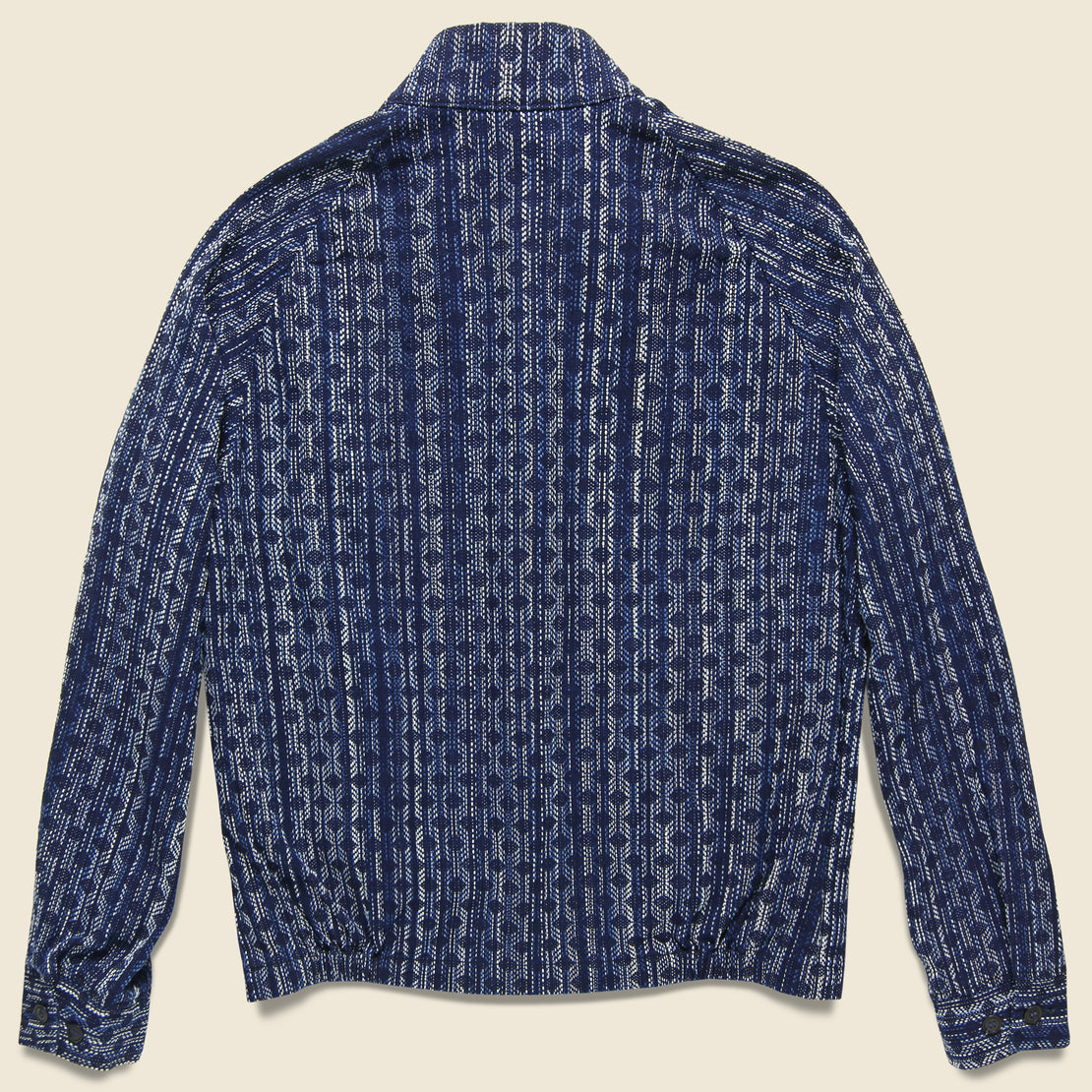 Aizome Splashed Jacket - Indigo