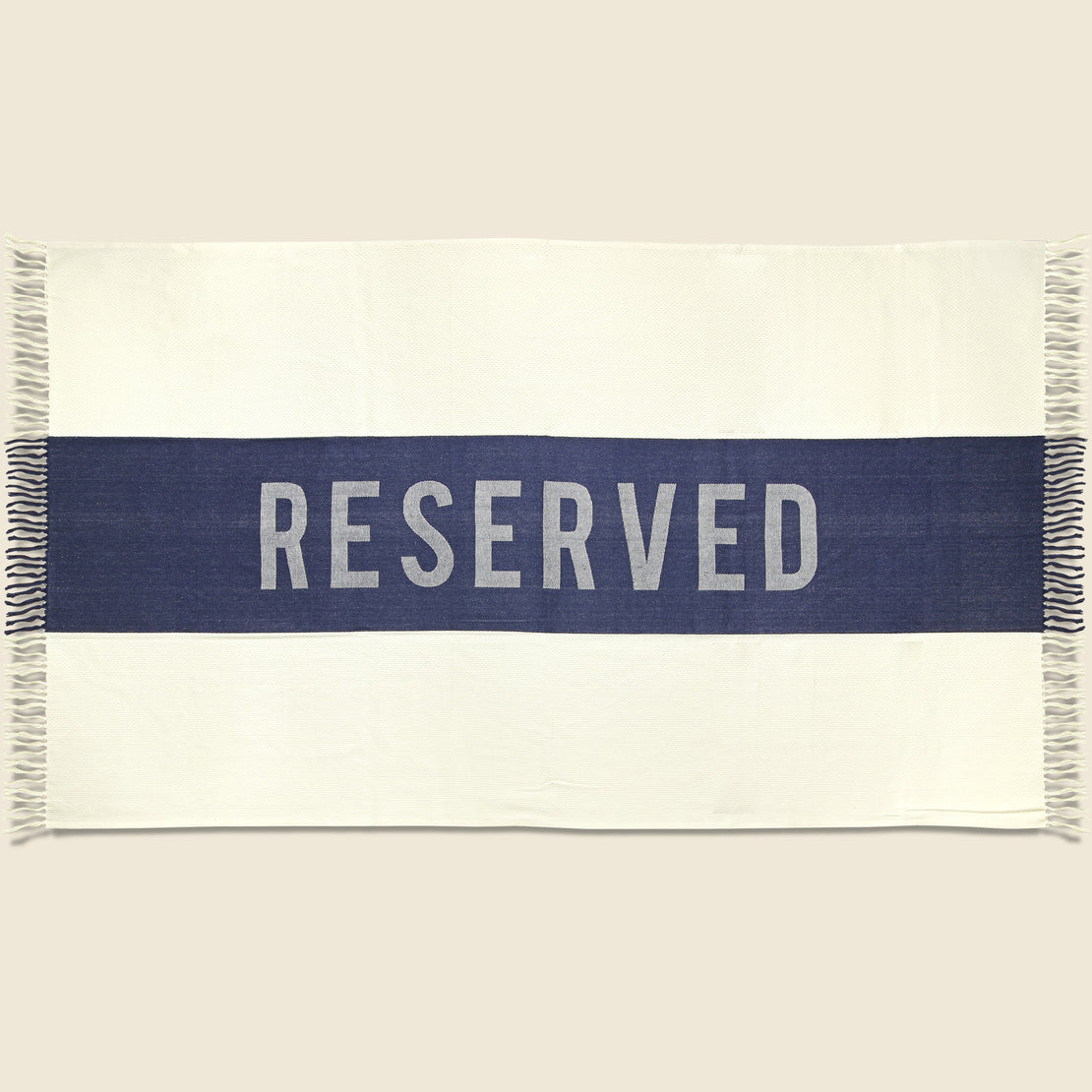 SIR/MADAM Reserved Towel - Indigo