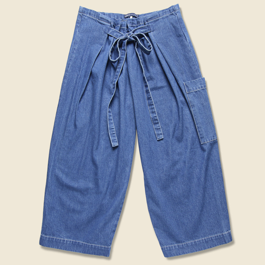 Levis Made & Crafted Beach Pant - Sun Bleached Blue