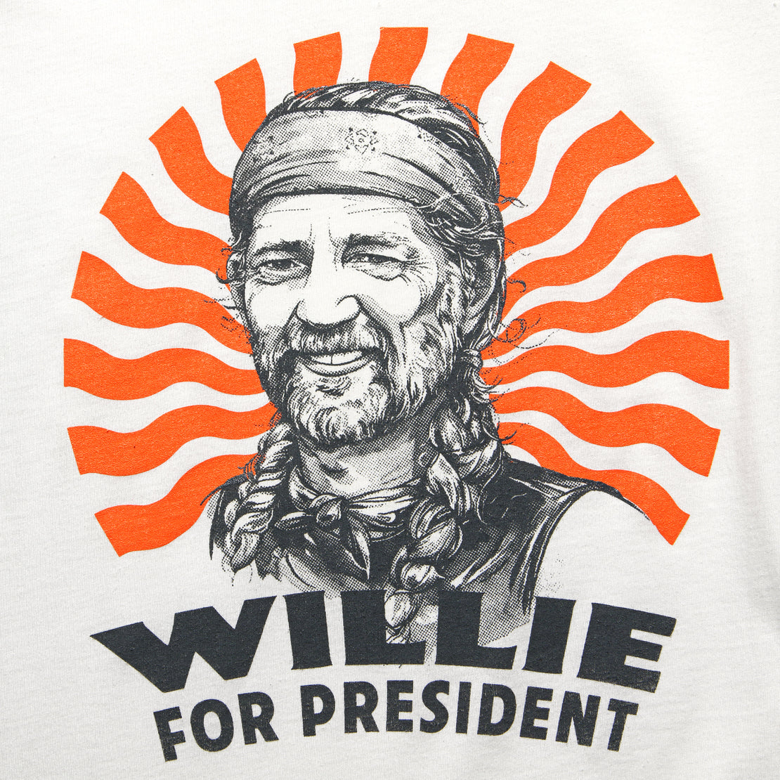 STAG Votes Tee - Willie For President