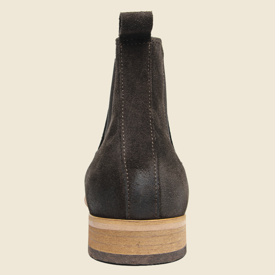 Dev Suede Chelsea Boot - Dark Brown
