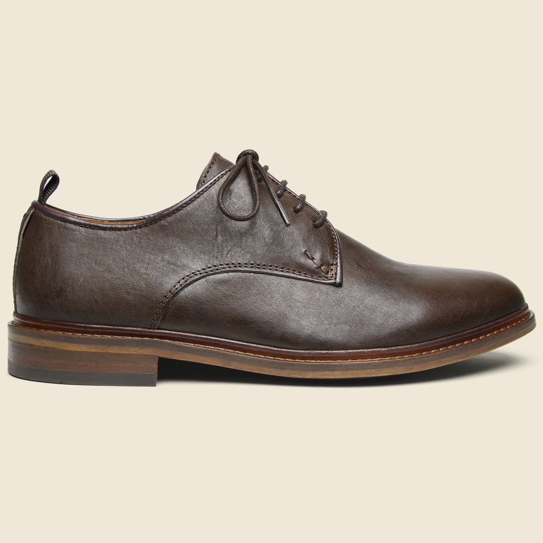 Shoe the Bear Nate Leather Oxford - Light Brown