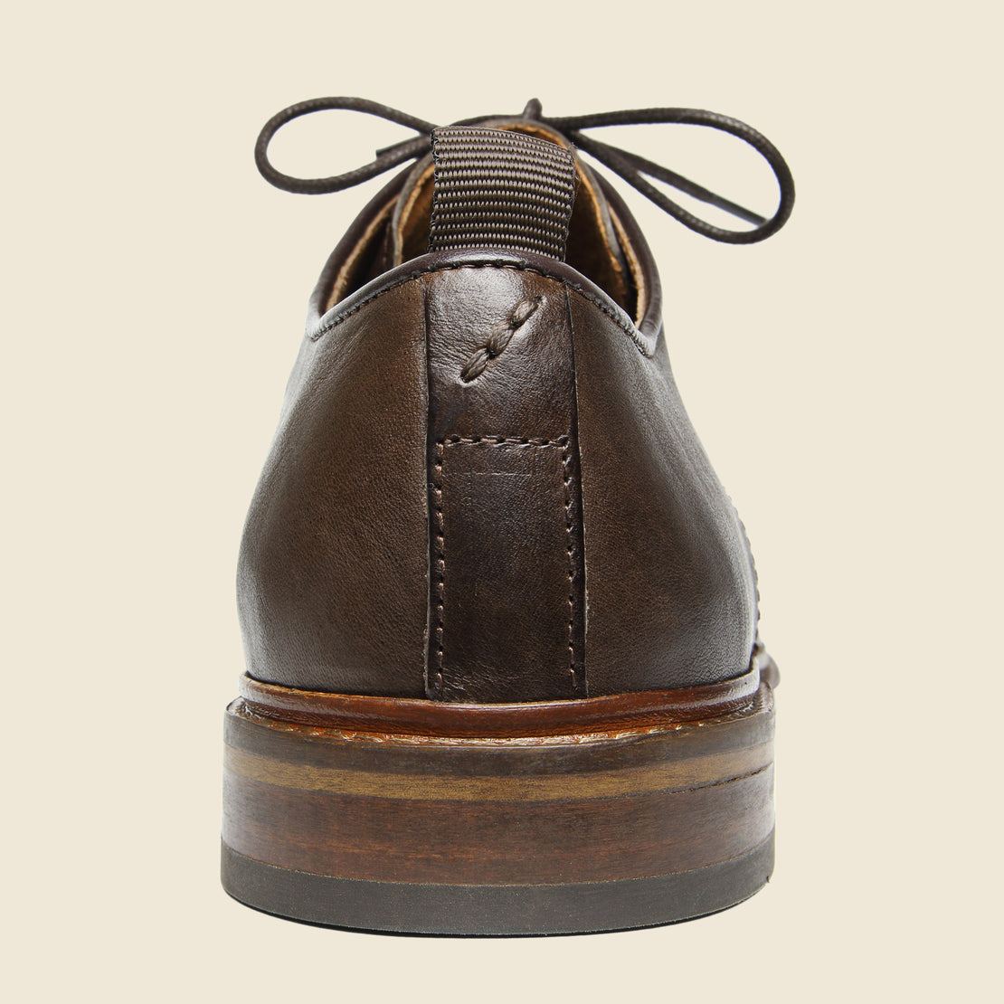Nate Leather Oxford - Light Brown