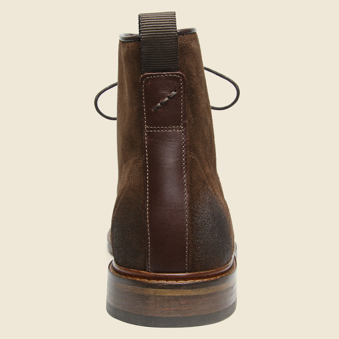 Ned Suede Lace-Up Boot - Light Brown
