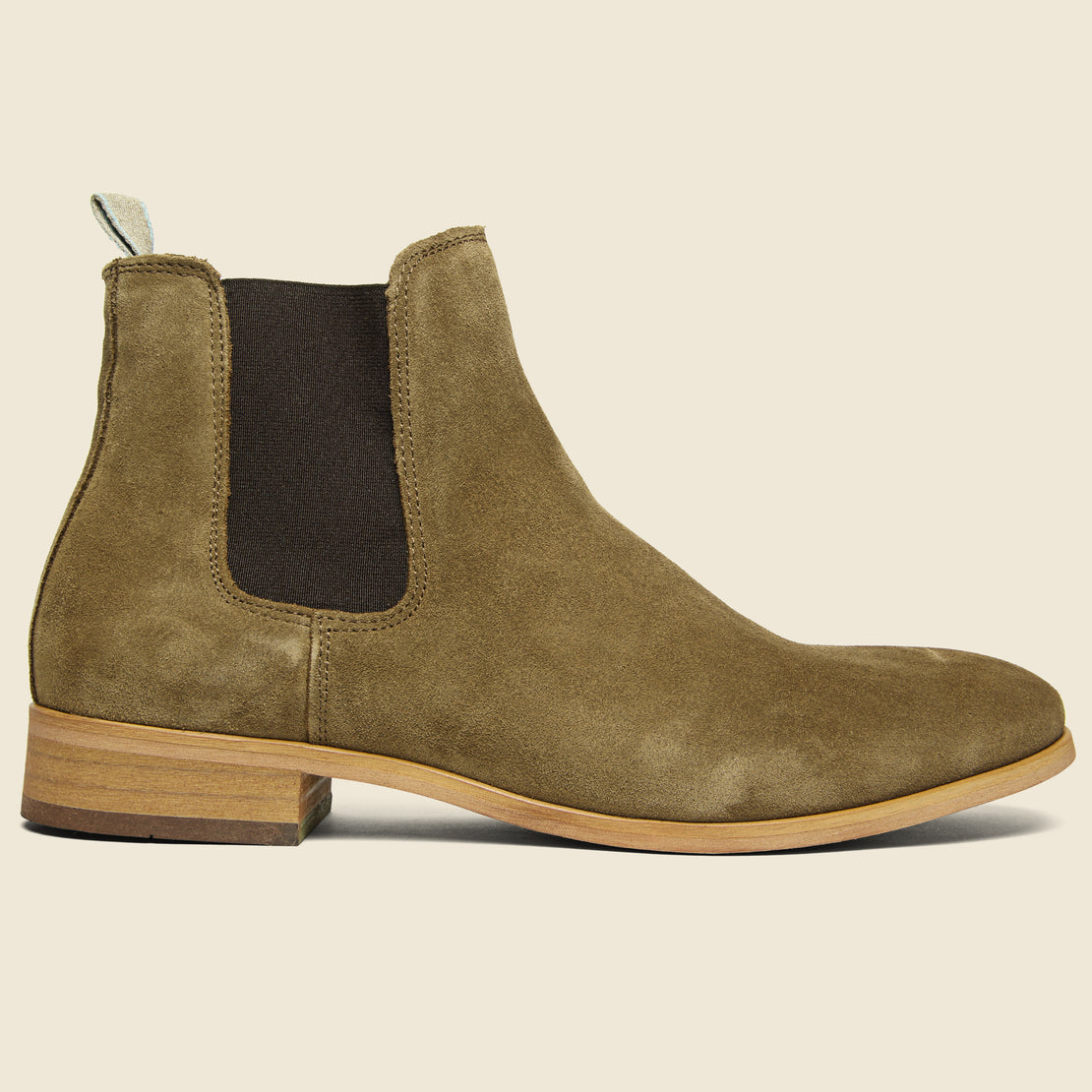 Shoe the Bear Dev Suede Chelsea Boot - Tobacco