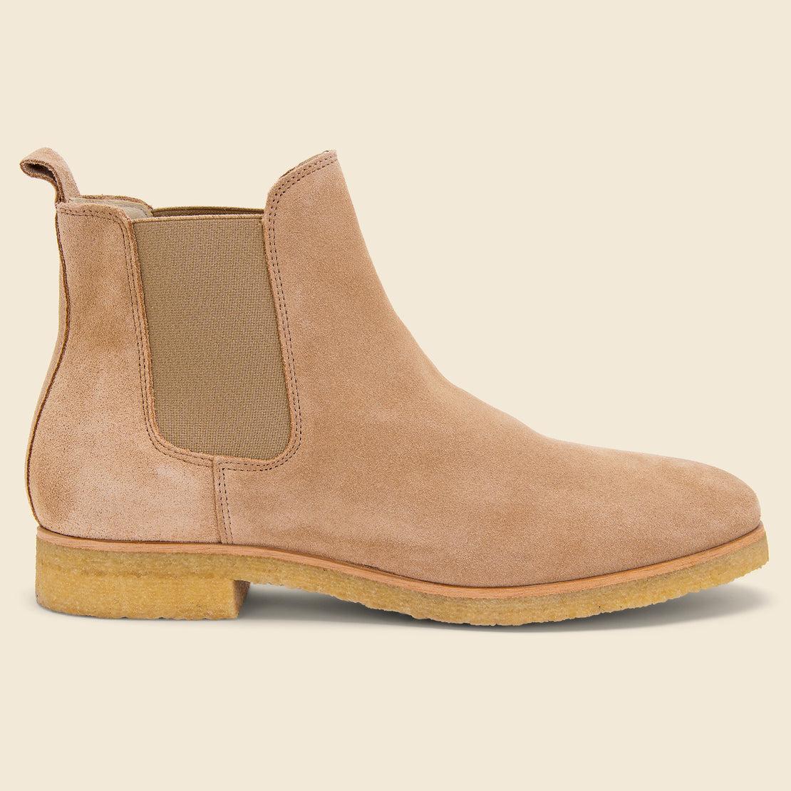 Shoe the Bear Kelvin Suede Chelsea Boot - Sand