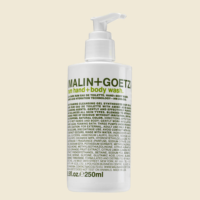 Malin + Goetz Hand + Body Wash - Rum