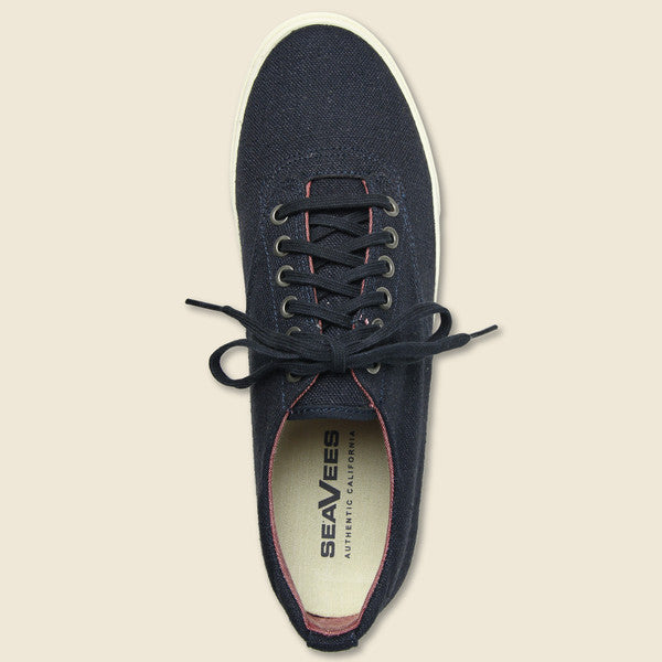 Hermosa Plimsoll - Navy - Seavees - STAG Provisions - Shoes - Athletic