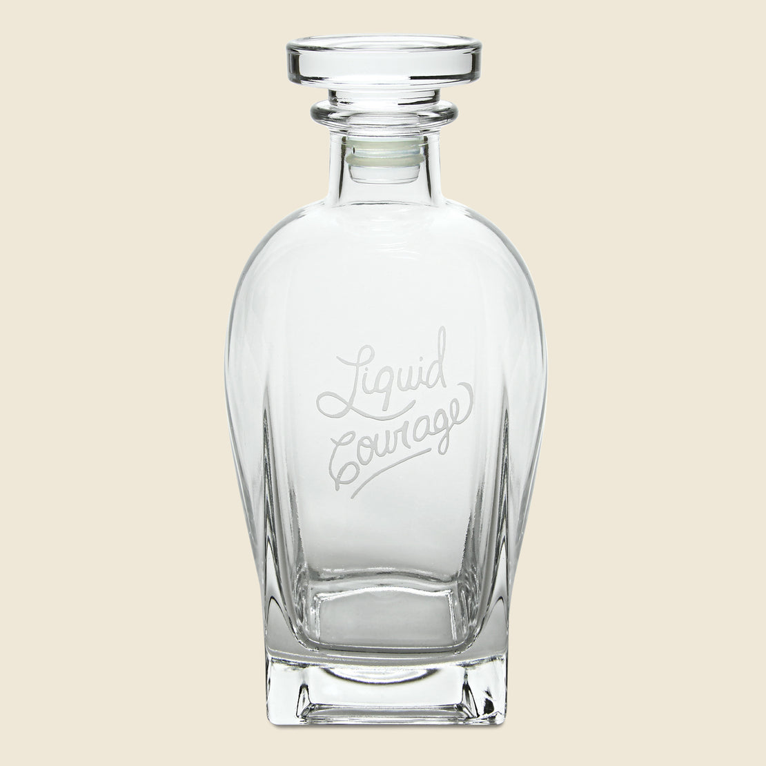 Barware Decanter - Liquid Courage