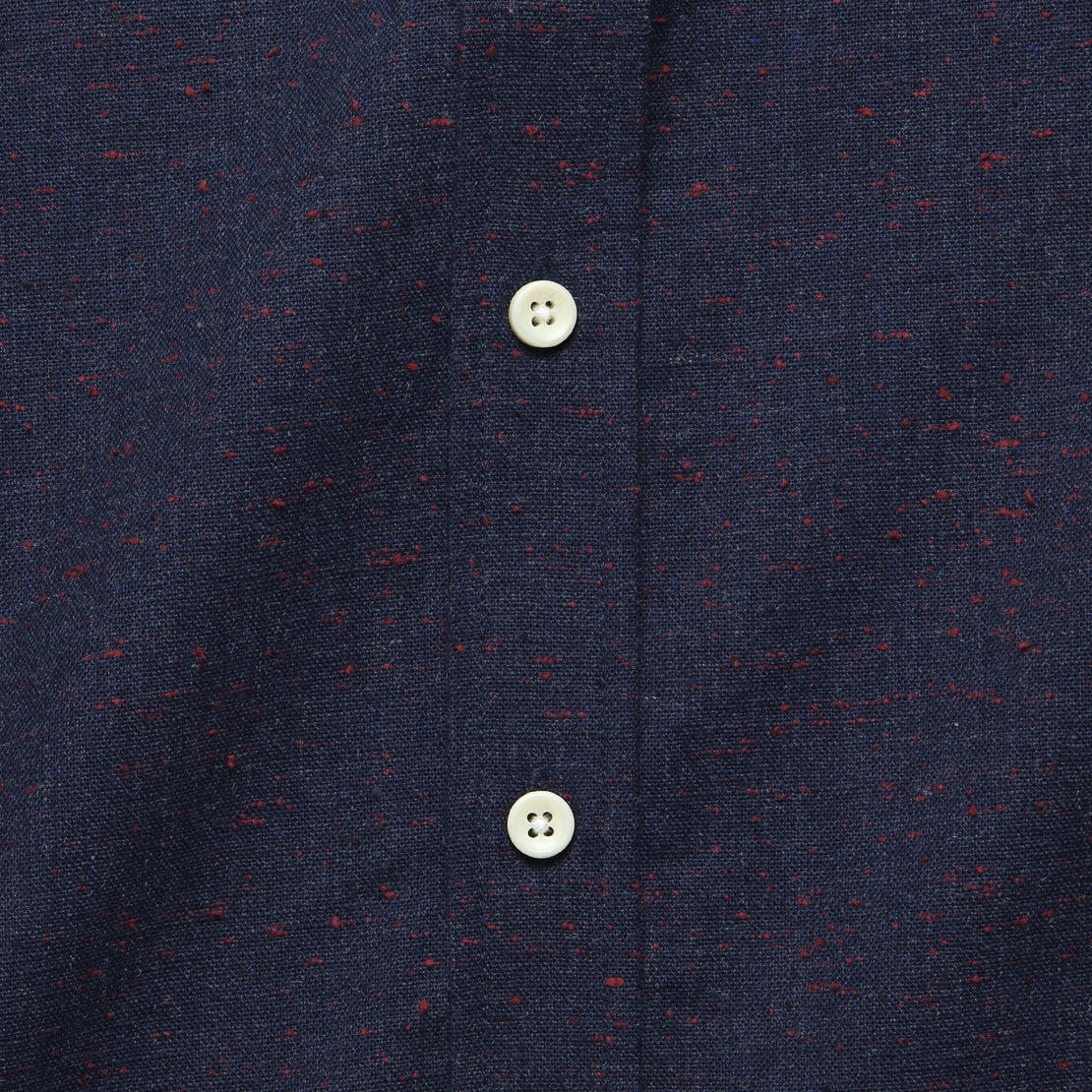 Jack Shirt - Navy Donegal