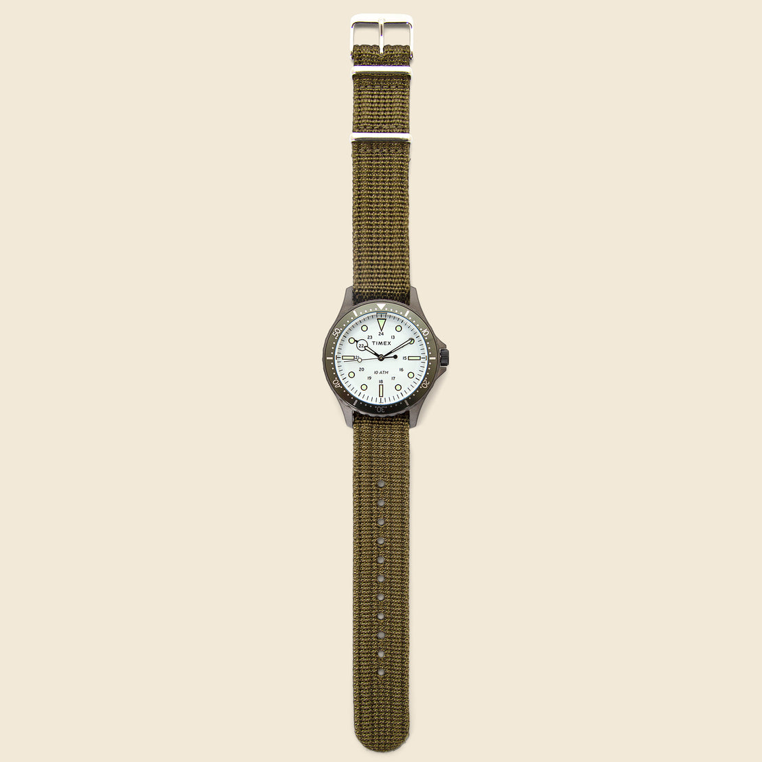 Navi XL Watch 41mm - White/Green