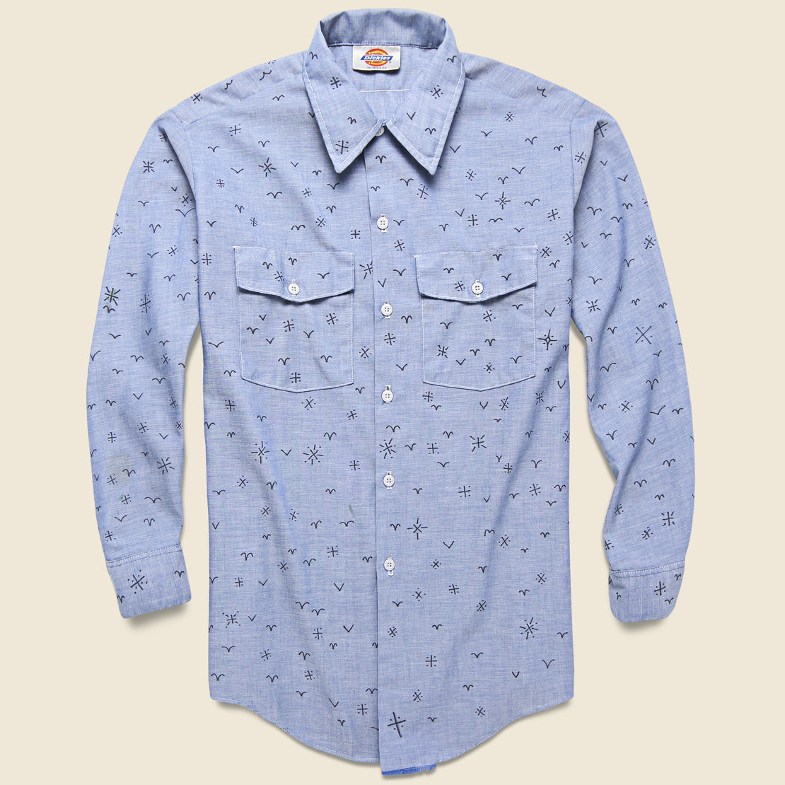 Tom Jean Webb Vintage Dickies Chambray Shirt - Icons
