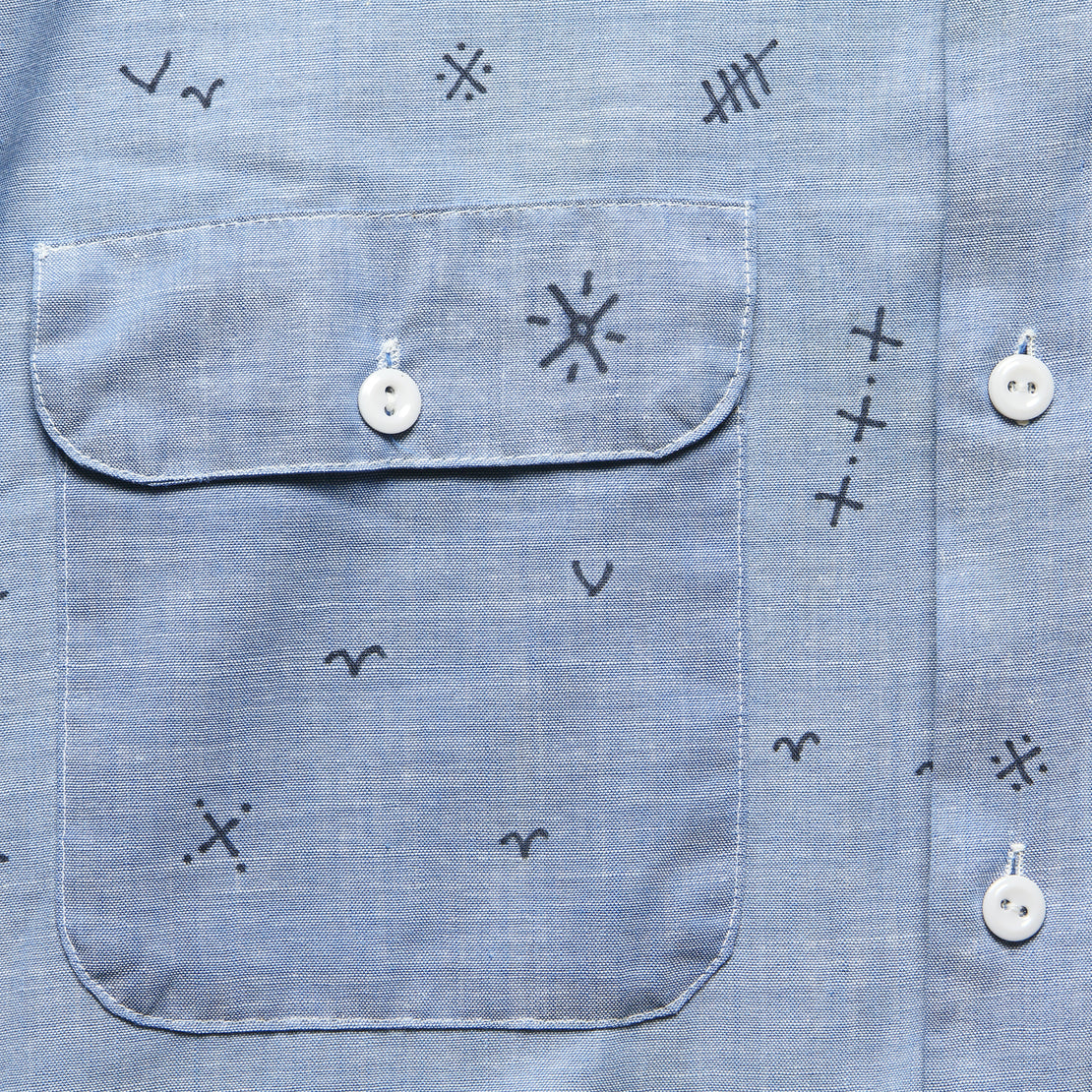 Vintage Chambray Selvedge Shirt - Icons