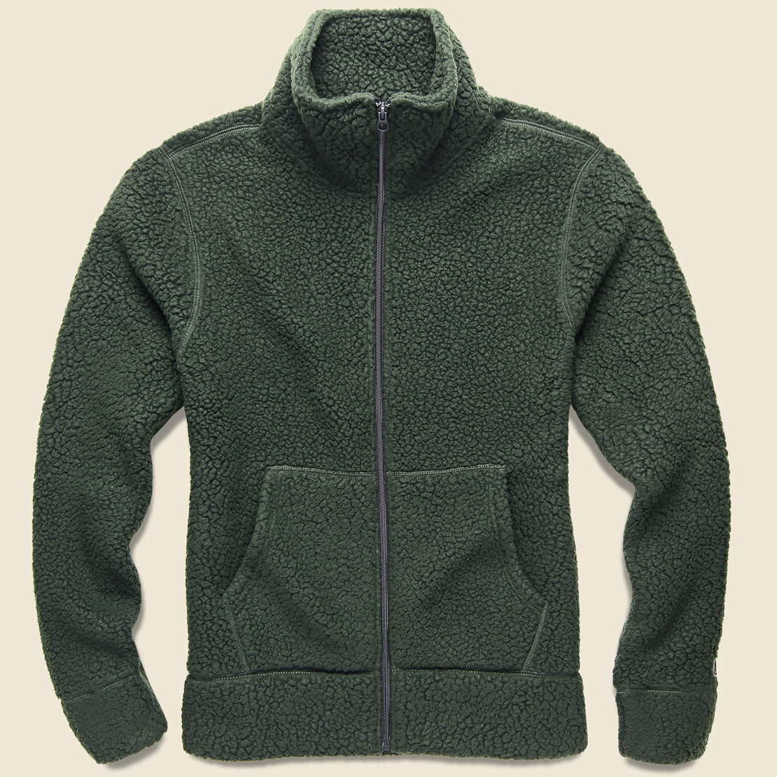 a9cac9947368 Todd Snyder Todd Snyder + Champion - Sherpa Jacket - Olive ...