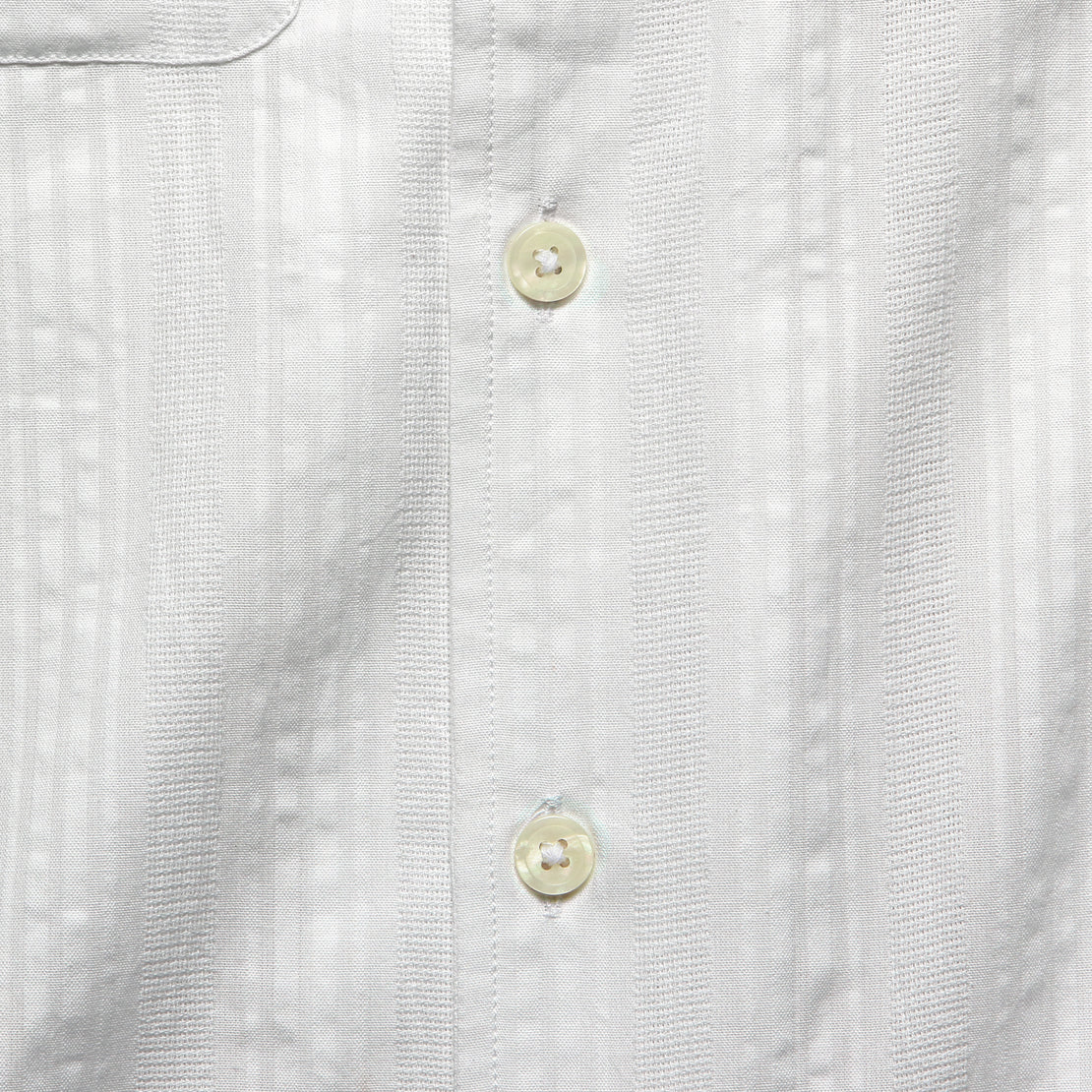 Two-Pocket Maui Camp Shirt - White