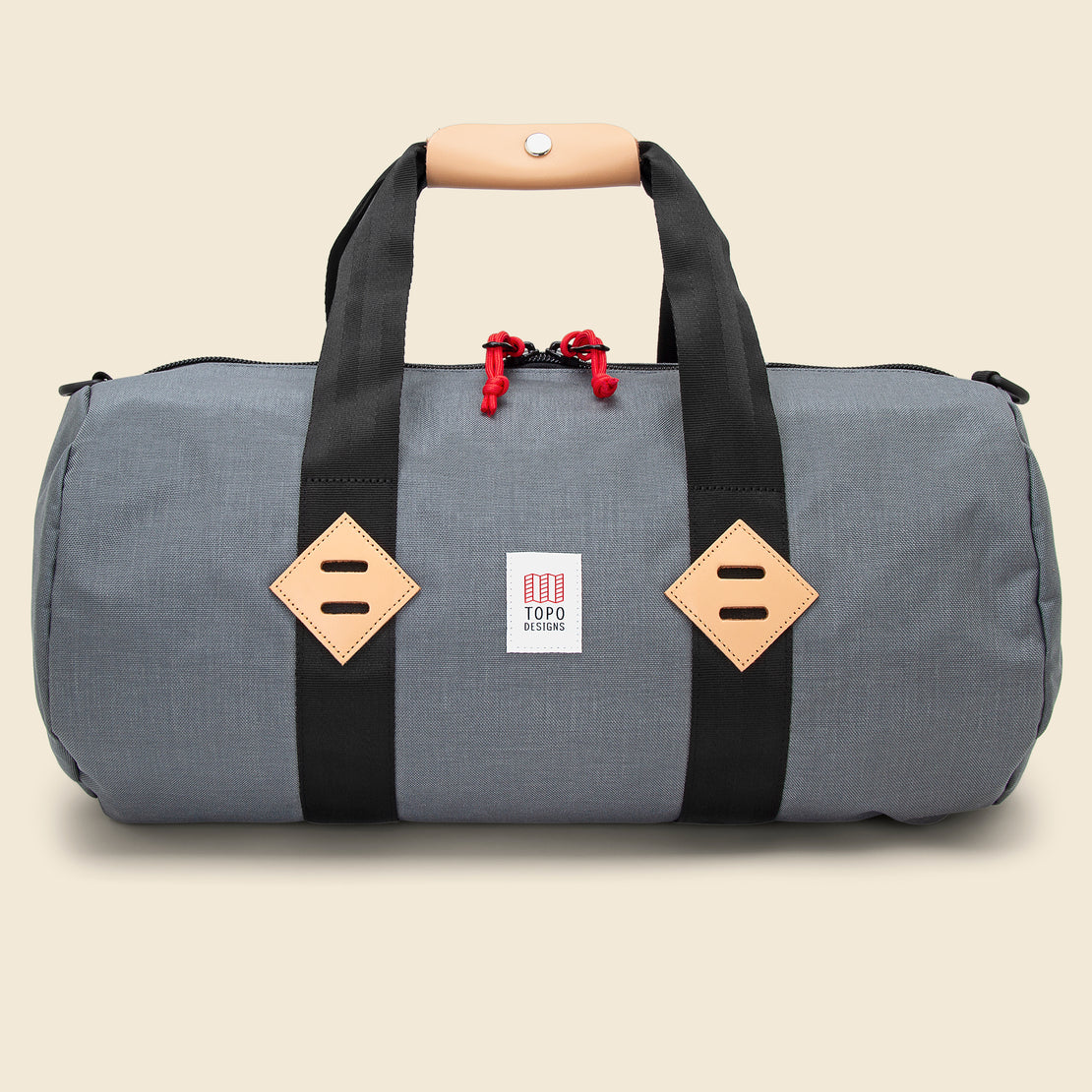 Topo Designs Classic 20 in. Duffle - Charcoal
