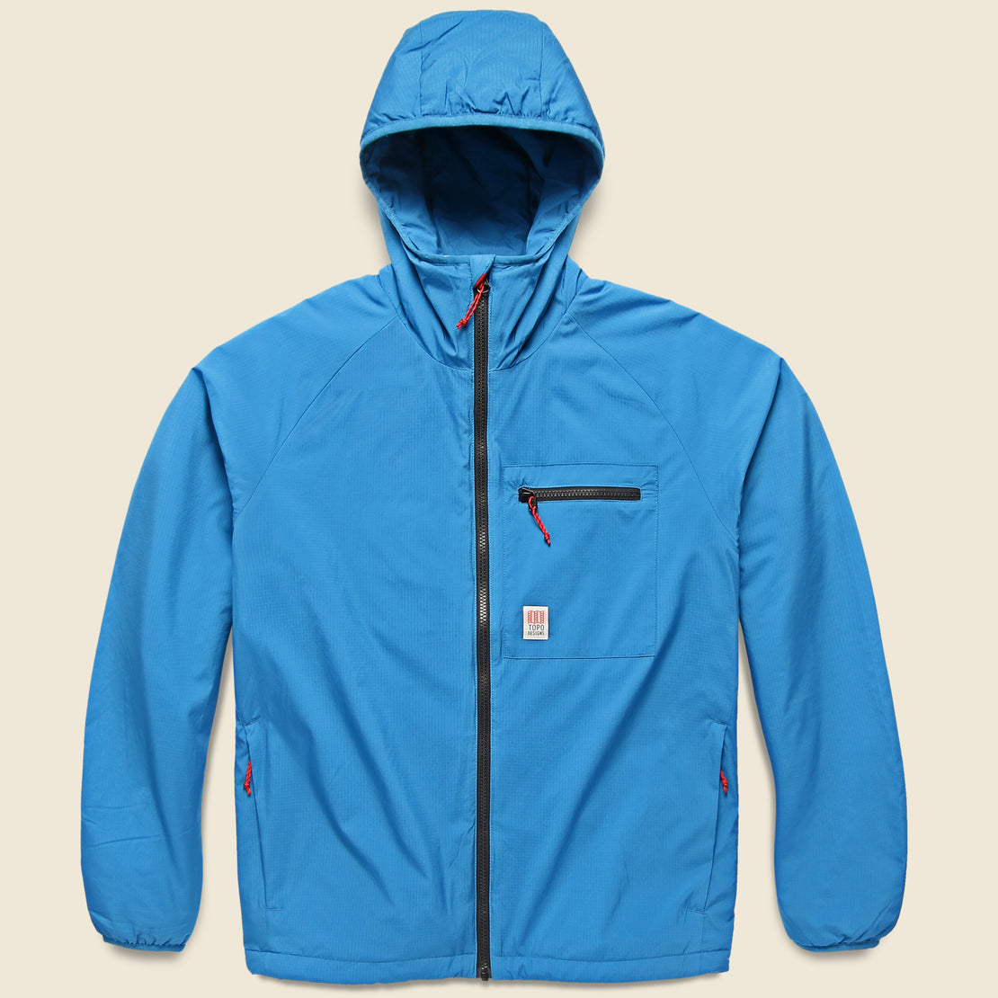 Topo Designs Puffer Zip Jacket - Blue