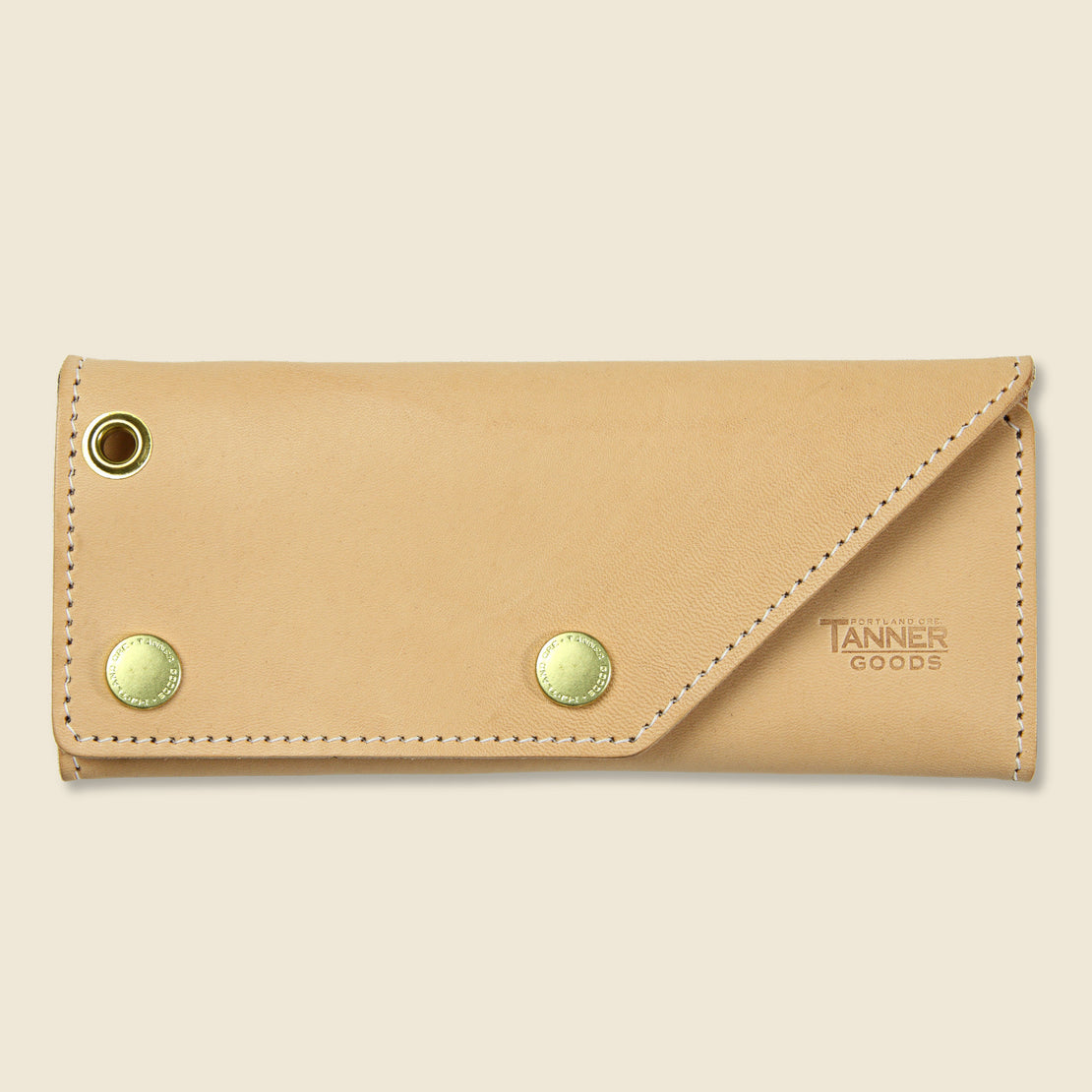 Tanner Workman Wallet - Natural
