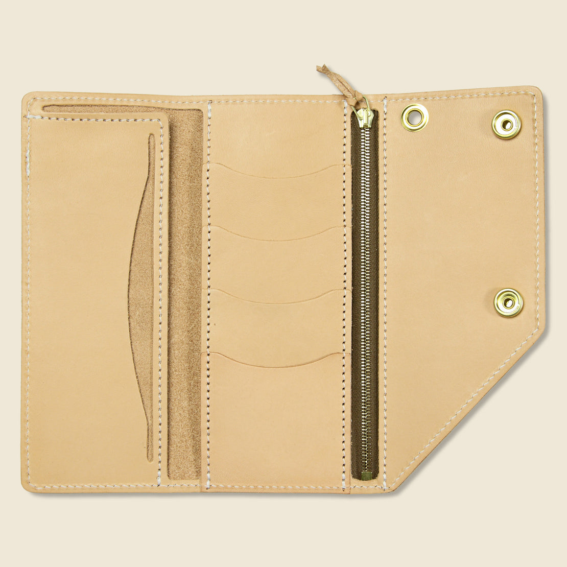 Workman Wallet - Natural - Tanner - STAG Provisions - Accessories - Wallets