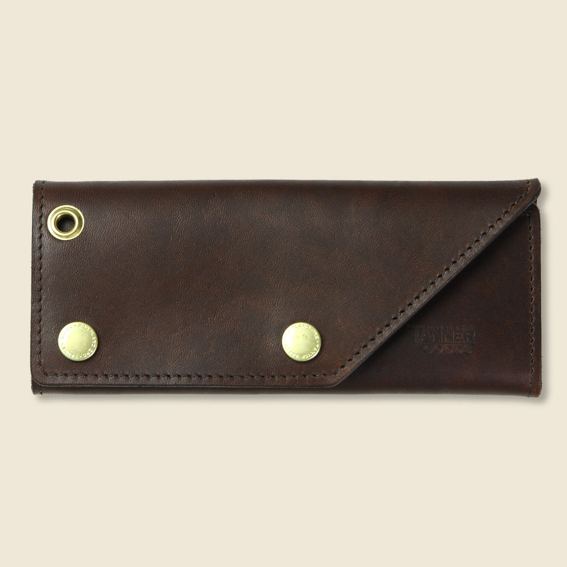 Tanner Workman Wallet - Dark Oak