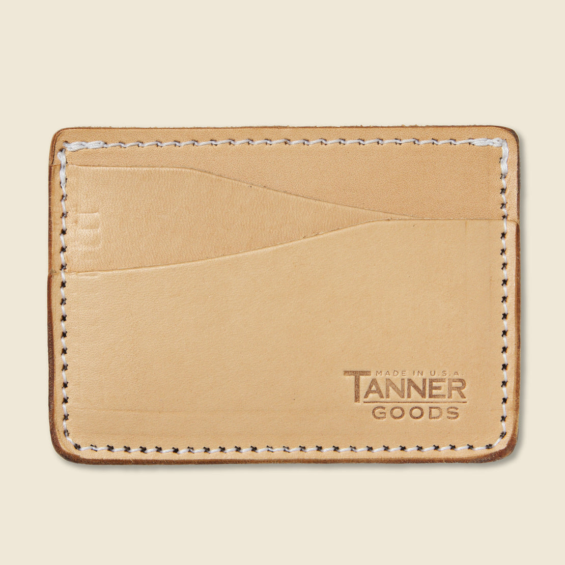 Tanner Journeyman Wallet - Natural