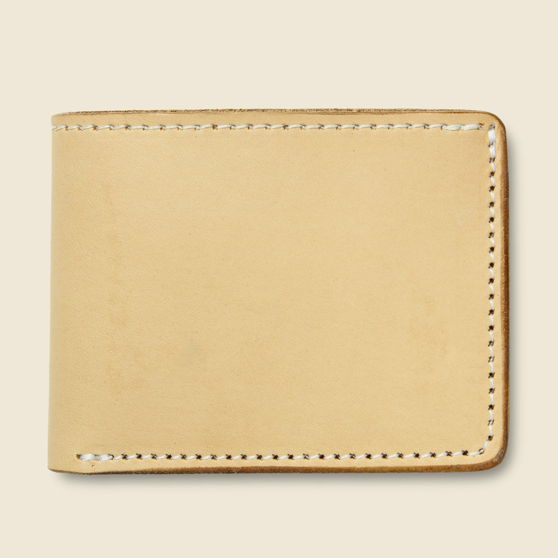 Tanner Utility Bifold Wallet - Natural