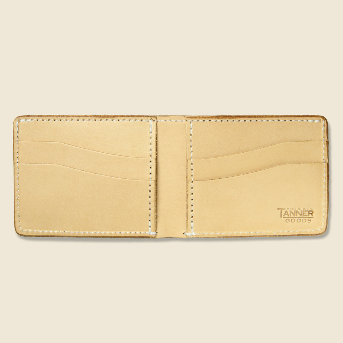 Utility Bifold Wallet - Natural - Tanner - STAG Provisions - Accessories - Wallets