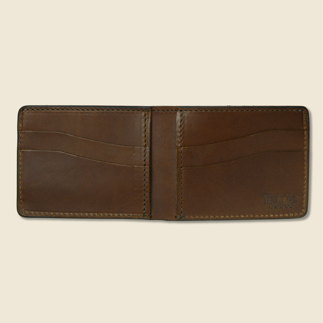 Utility Bifold Wallet - Dark Oak - Tanner - STAG Provisions - Accessories - Wallets