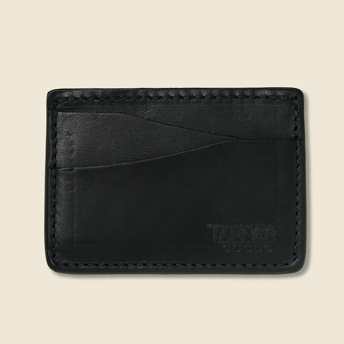 Tanner Journeyman Wallet - Black