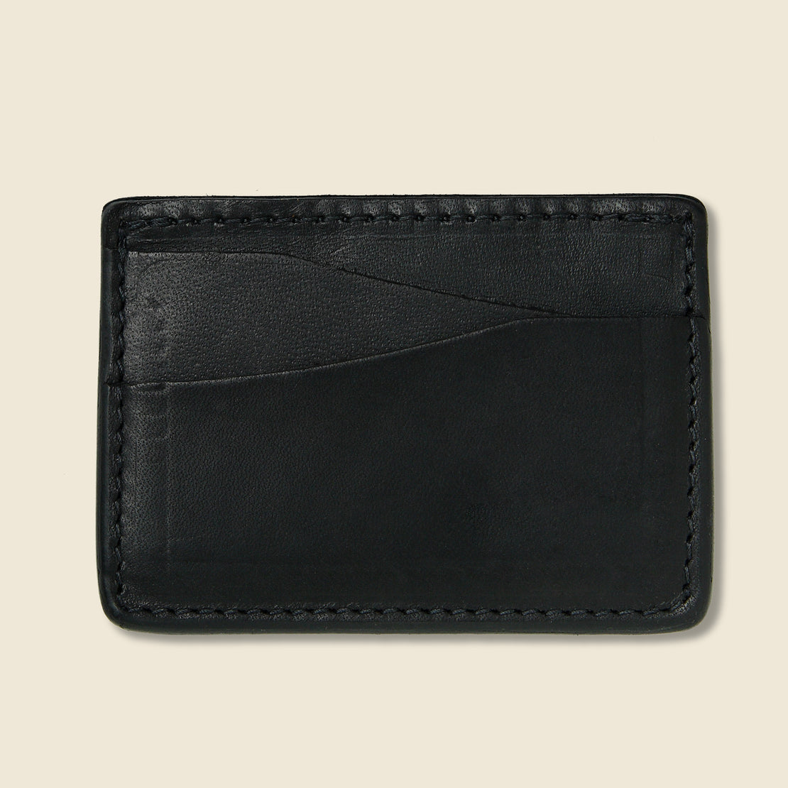 Journeyman Wallet - Black - Tanner - STAG Provisions - Accessories - Wallets