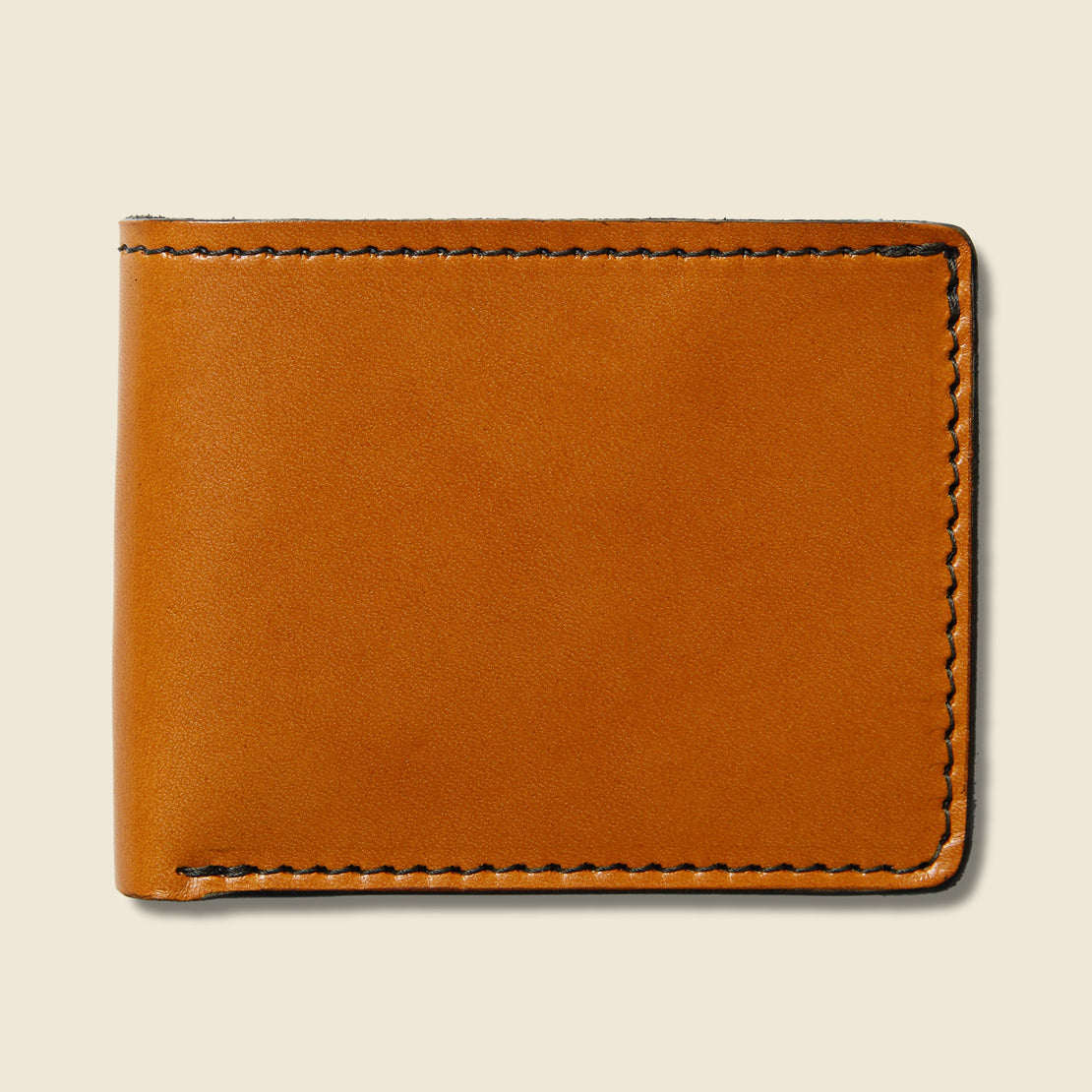 Tanner Utility Bifold Wallet - Saddle Tan