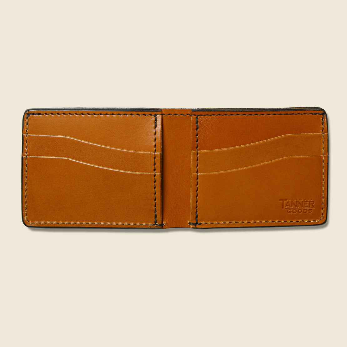Utility Bifold Wallet - Saddle Tan - Tanner - STAG Provisions - Accessories - Wallets