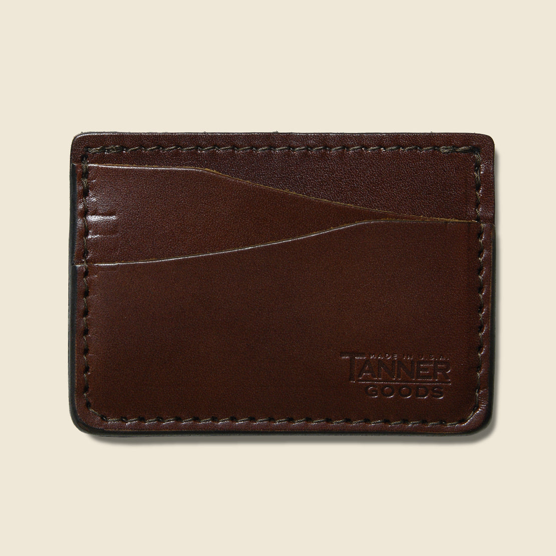 Tanner Journeyman Wallet - Cognac