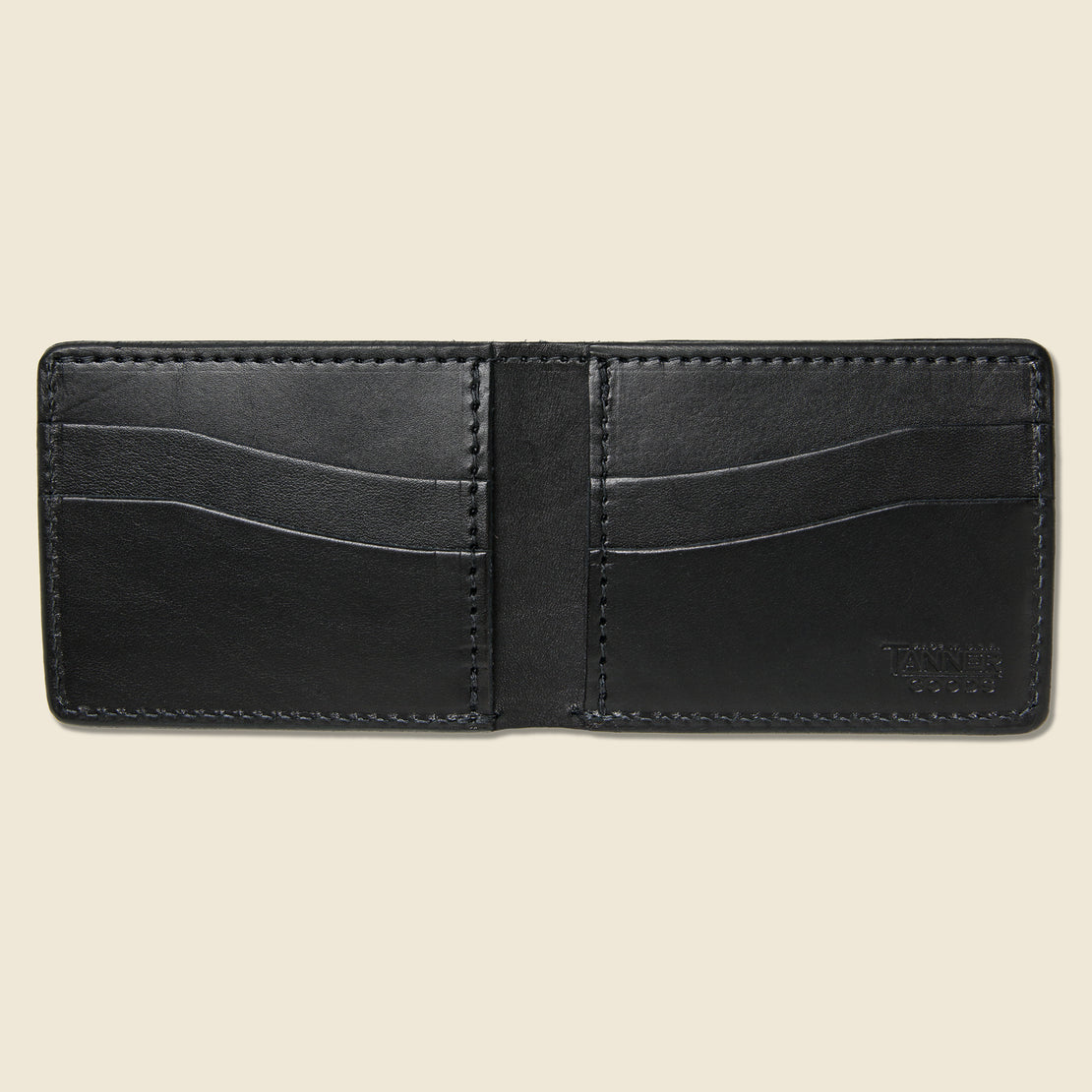Utility Bifold Wallet - Black - Tanner - STAG Provisions - Accessories - Wallets