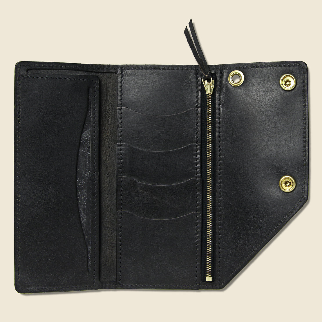 Workman Wallet - Black - Tanner - STAG Provisions - Accessories - Wallets
