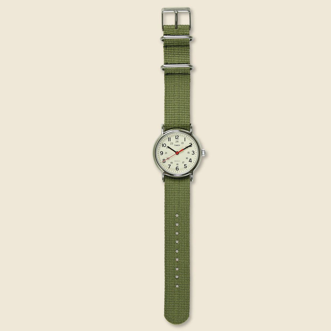 Weekender Watch 38mm - Cream/Olive