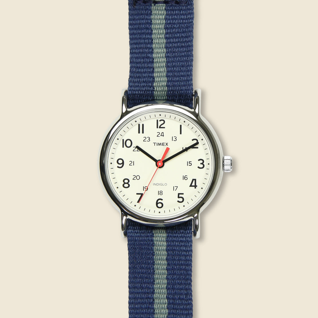 Timex Weekender Watch 38mm - Blue/Gray