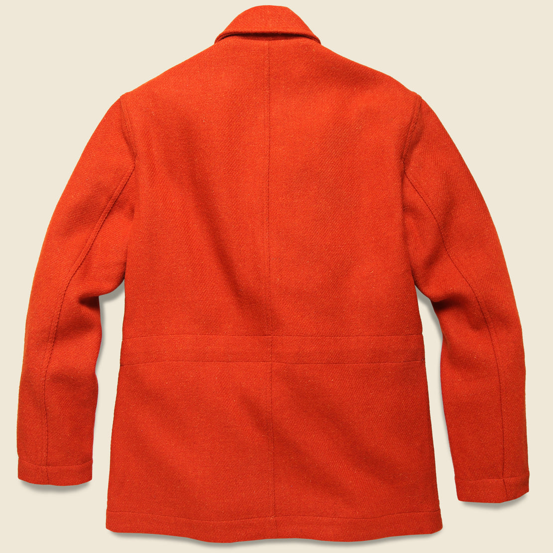 Norfolk Tweed Bakers Jacket - Orange