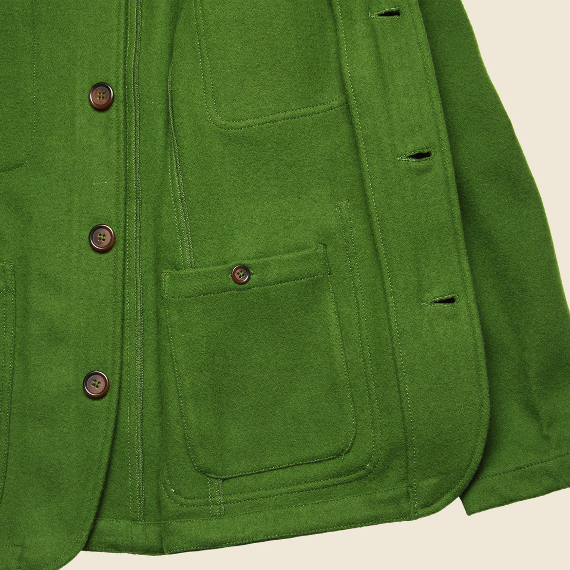 Mowbray Long Bakers Jacket - Green