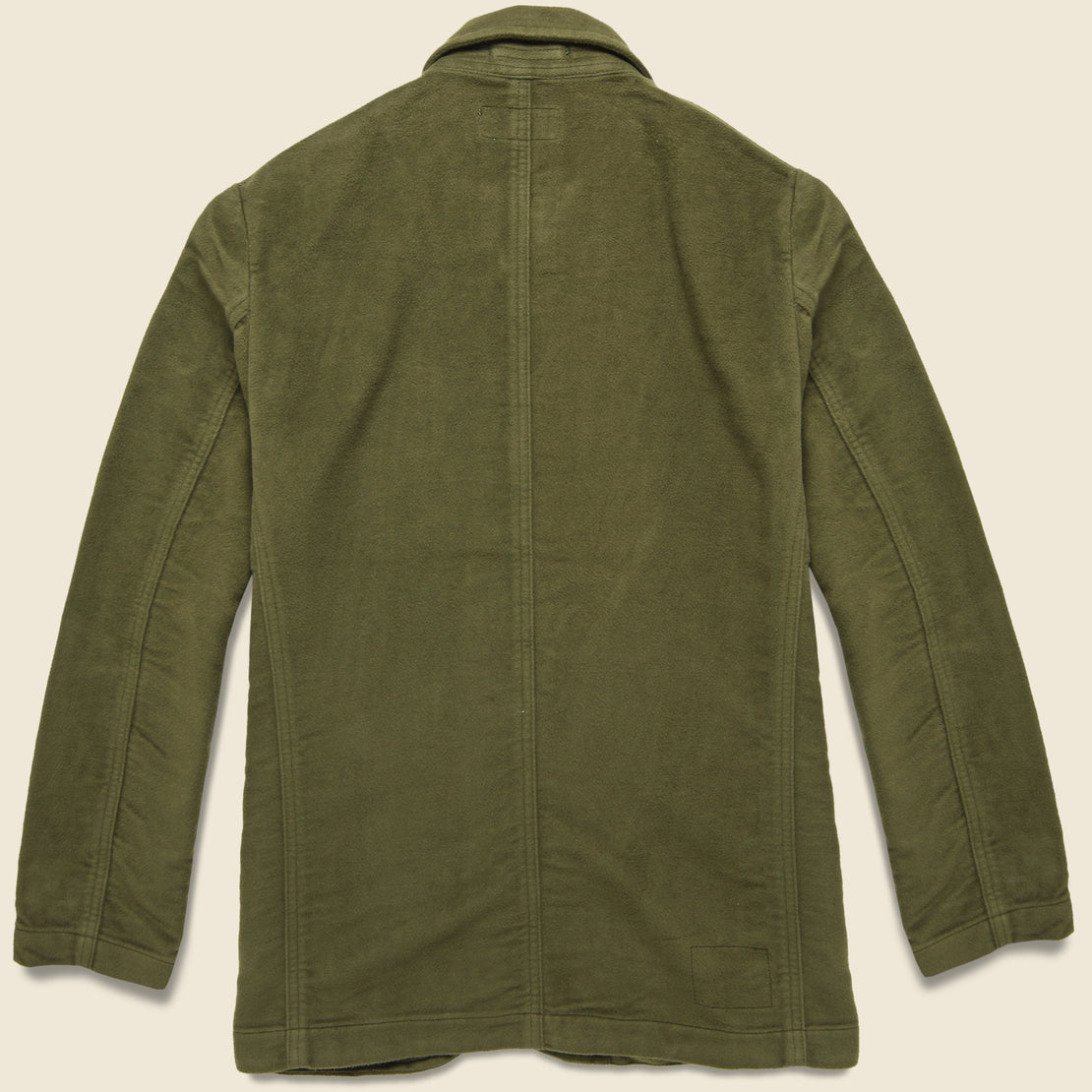 Moleskin Bakers Jacket - Moss
