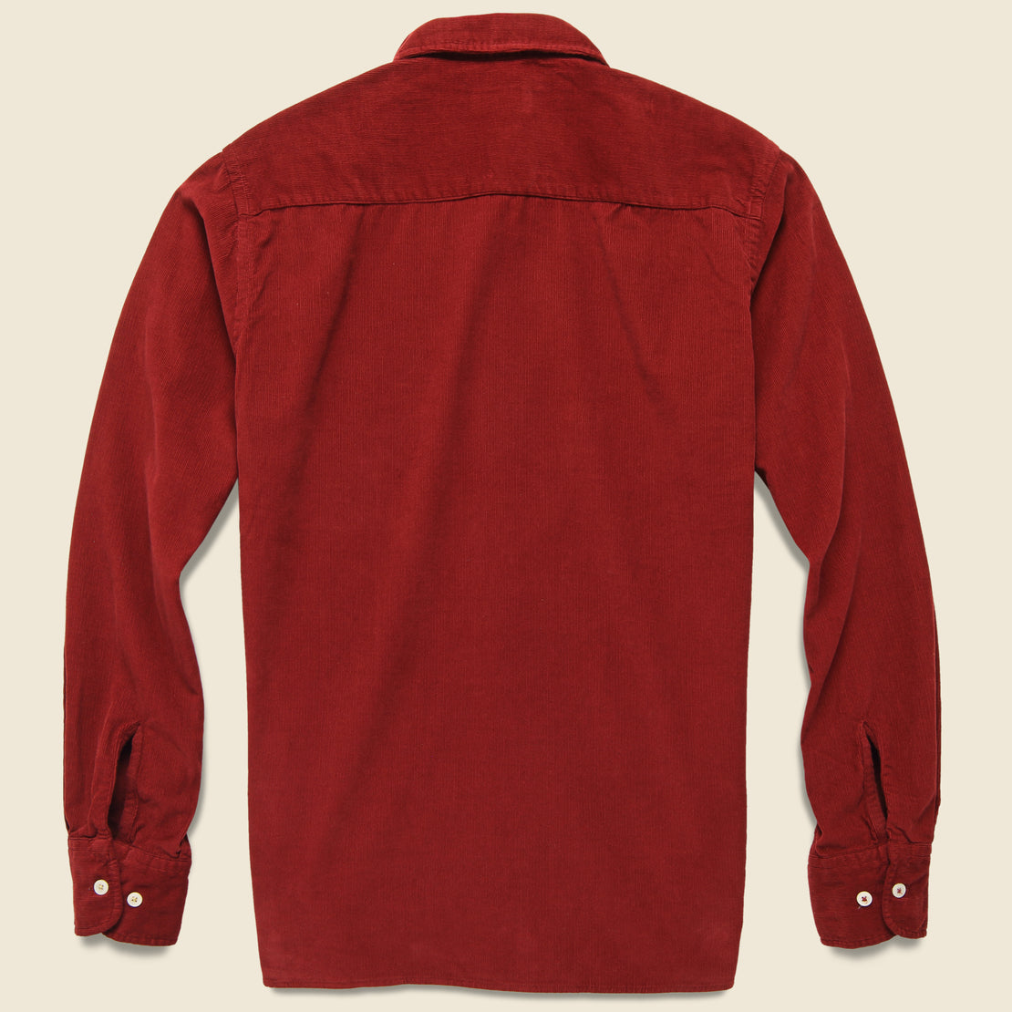 Cord Everyday Shirt - Claret