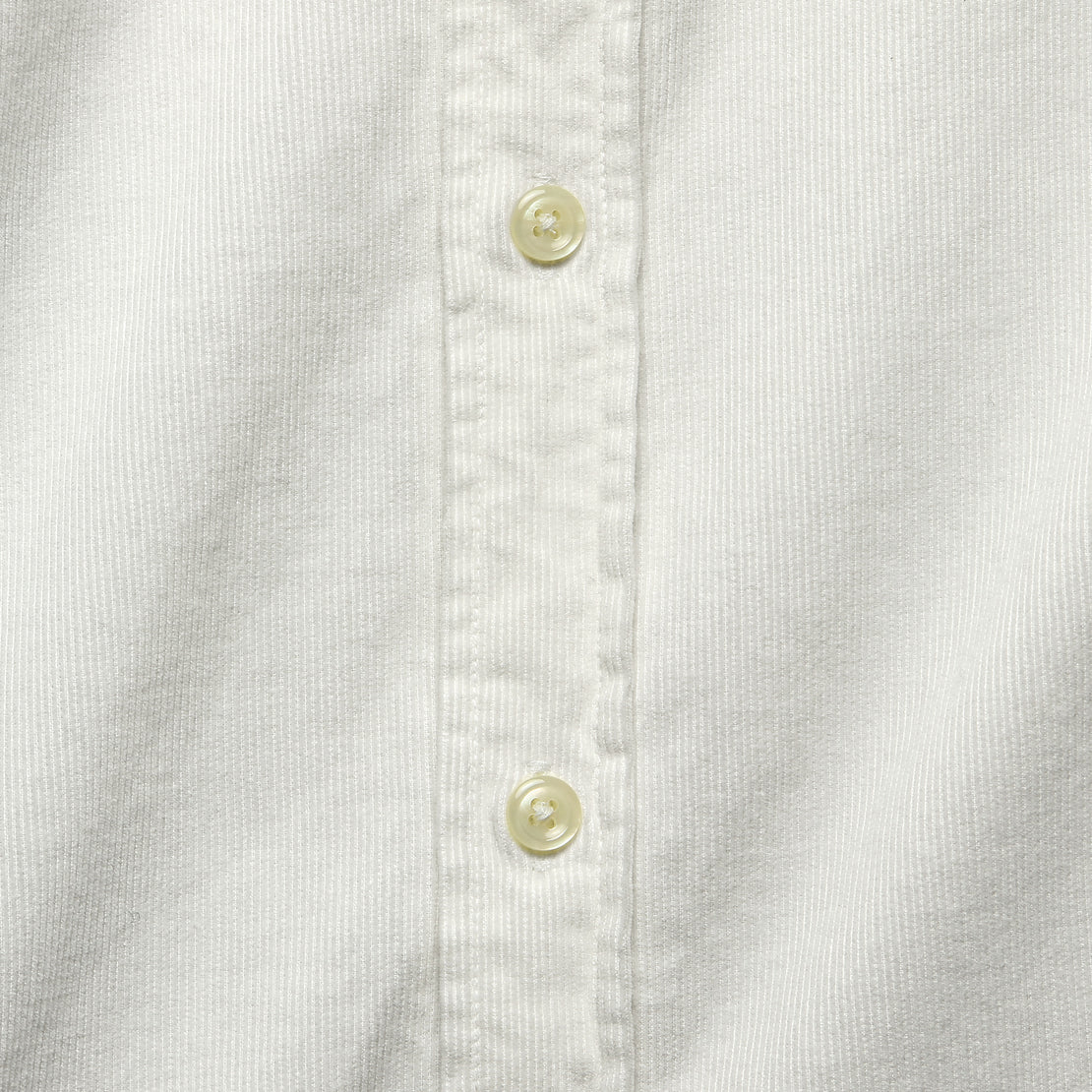 Cord Everyday Shirt - Ecru