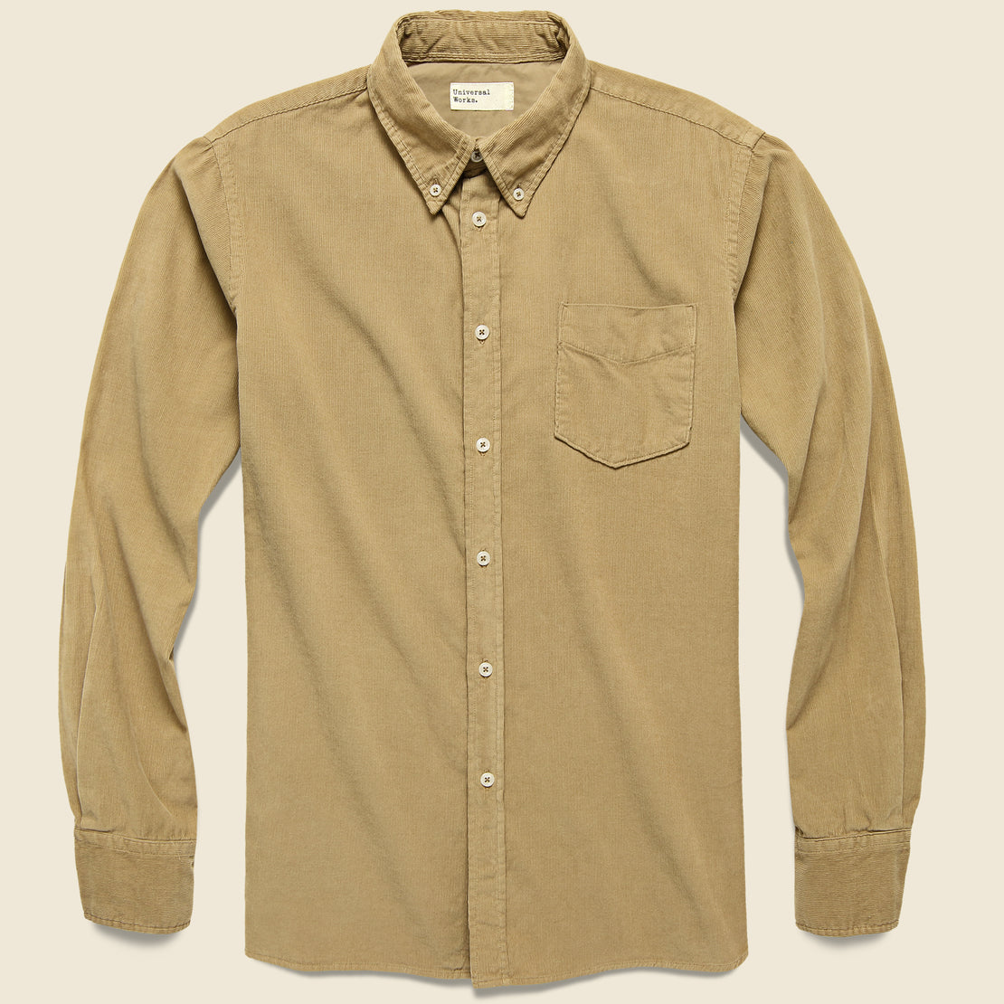 Universal Works Everyday Cord Shirt - Sand