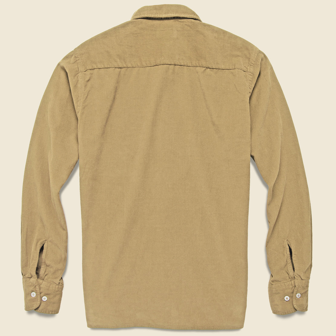 Everyday Cord Shirt - Sand