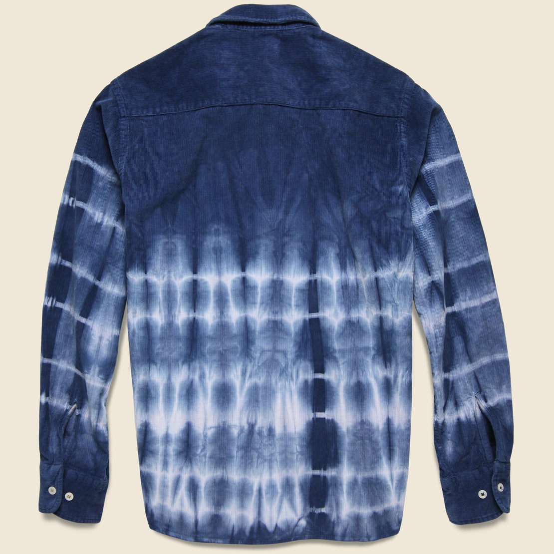 Cord Everyday Shirt - Indigo Tie Dye