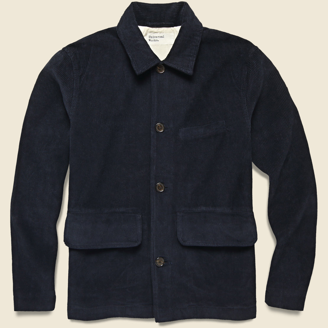 Universal Works Warmus II Jacket - Navy Cord