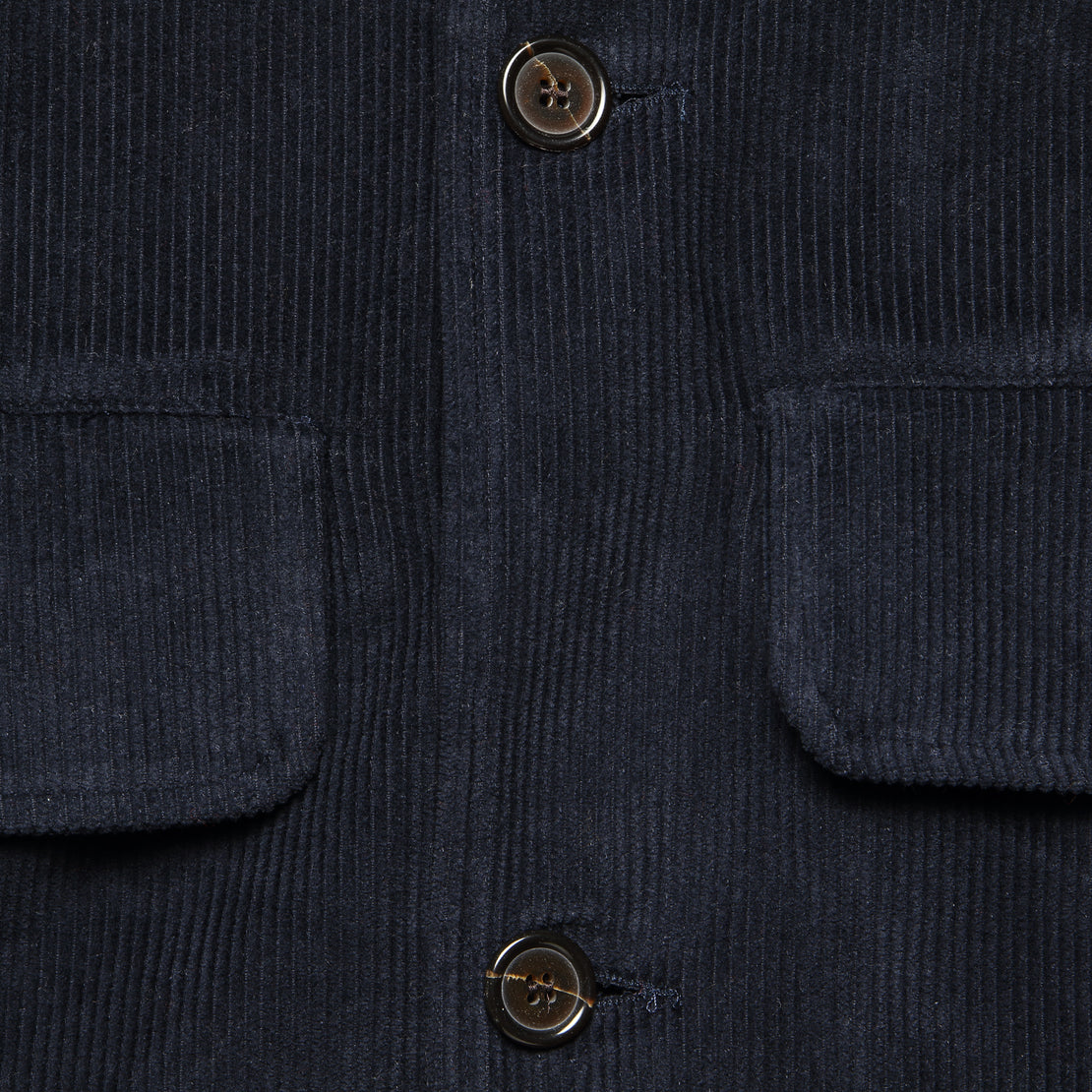 Warmus II Jacket - Navy Cord