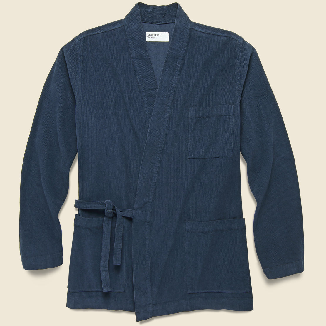 Universal Works Kyoto Work Jacket - Navy Cord
