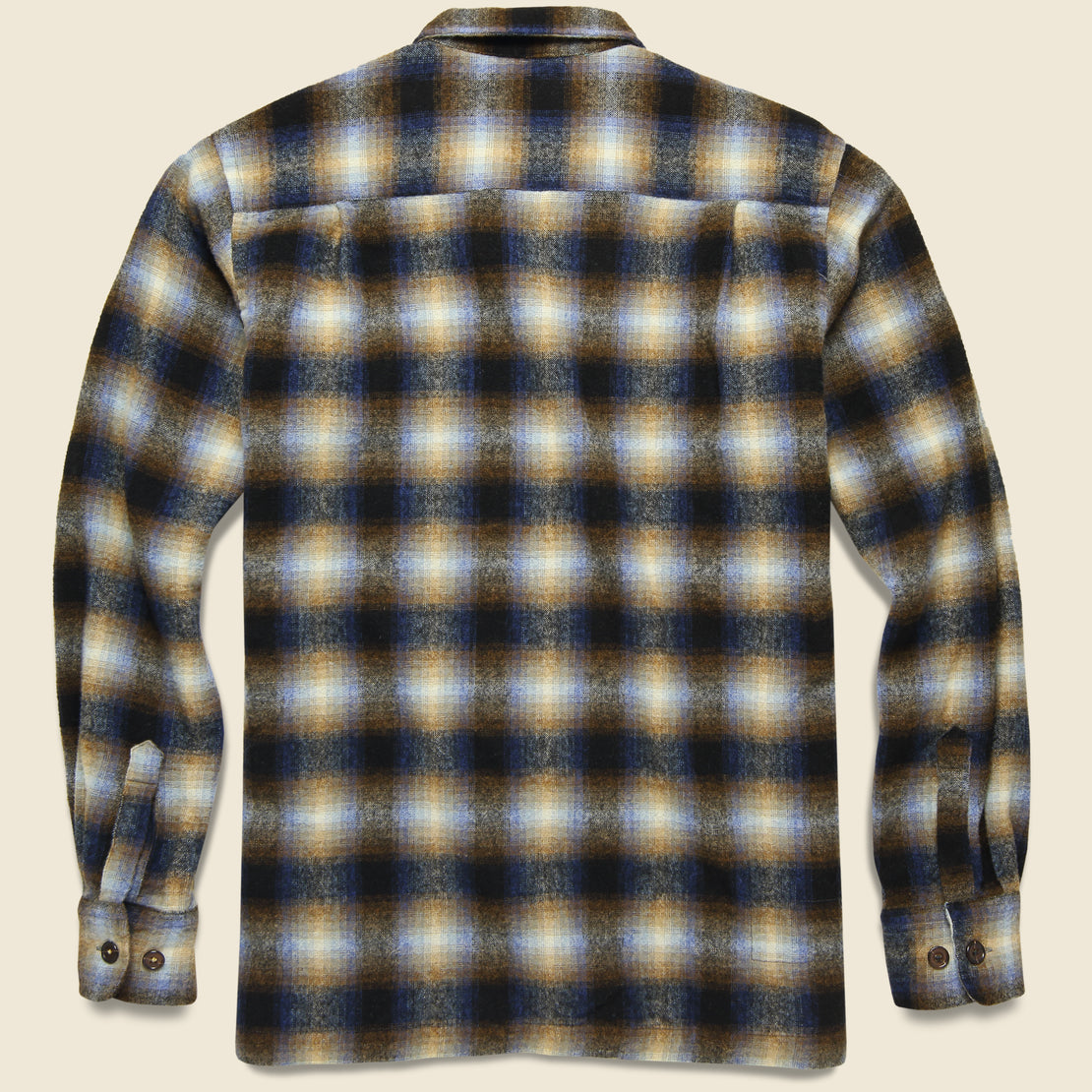 Utility Shirt - Navy Check